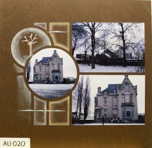REVE - Azza Headquarters, Nivelles, Belgium - inks, Trees deco stencil